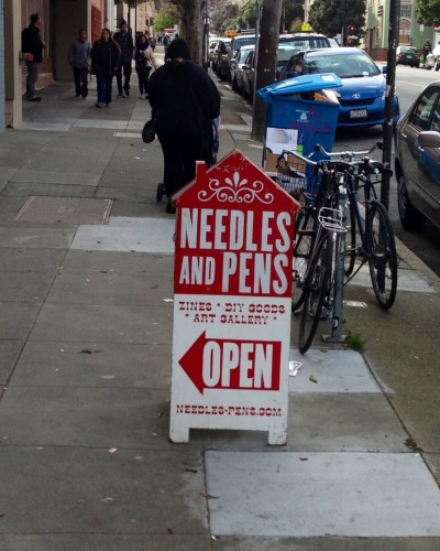 Needles and Pens